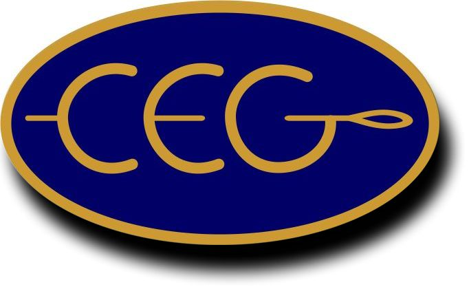 CEG badge with shadow